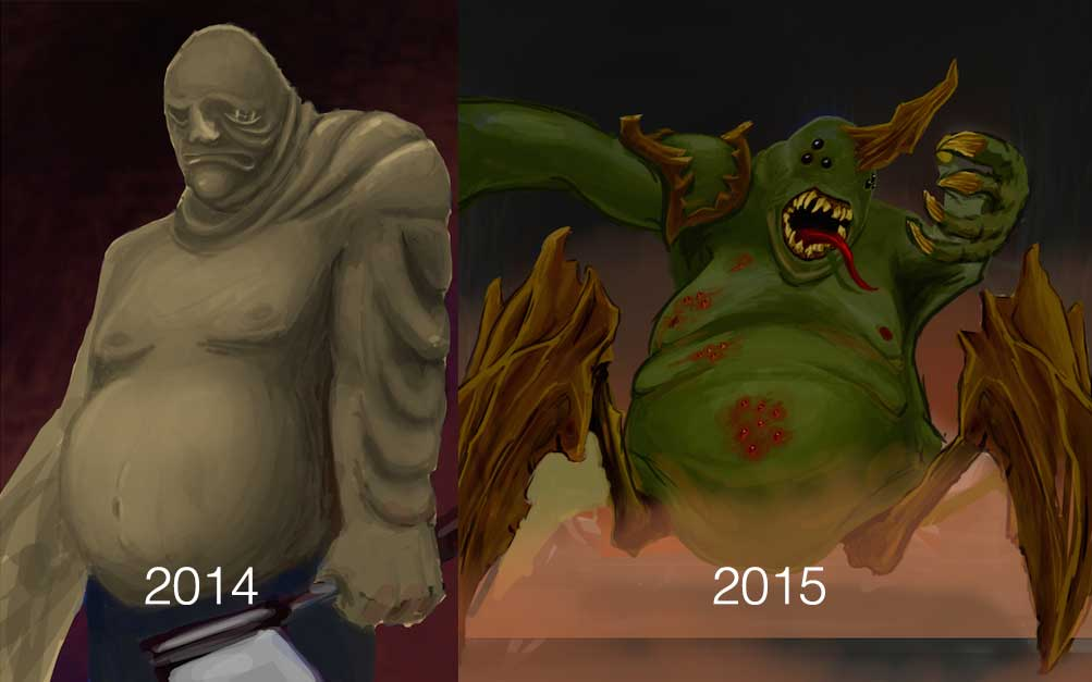Some progress made from 2014-15